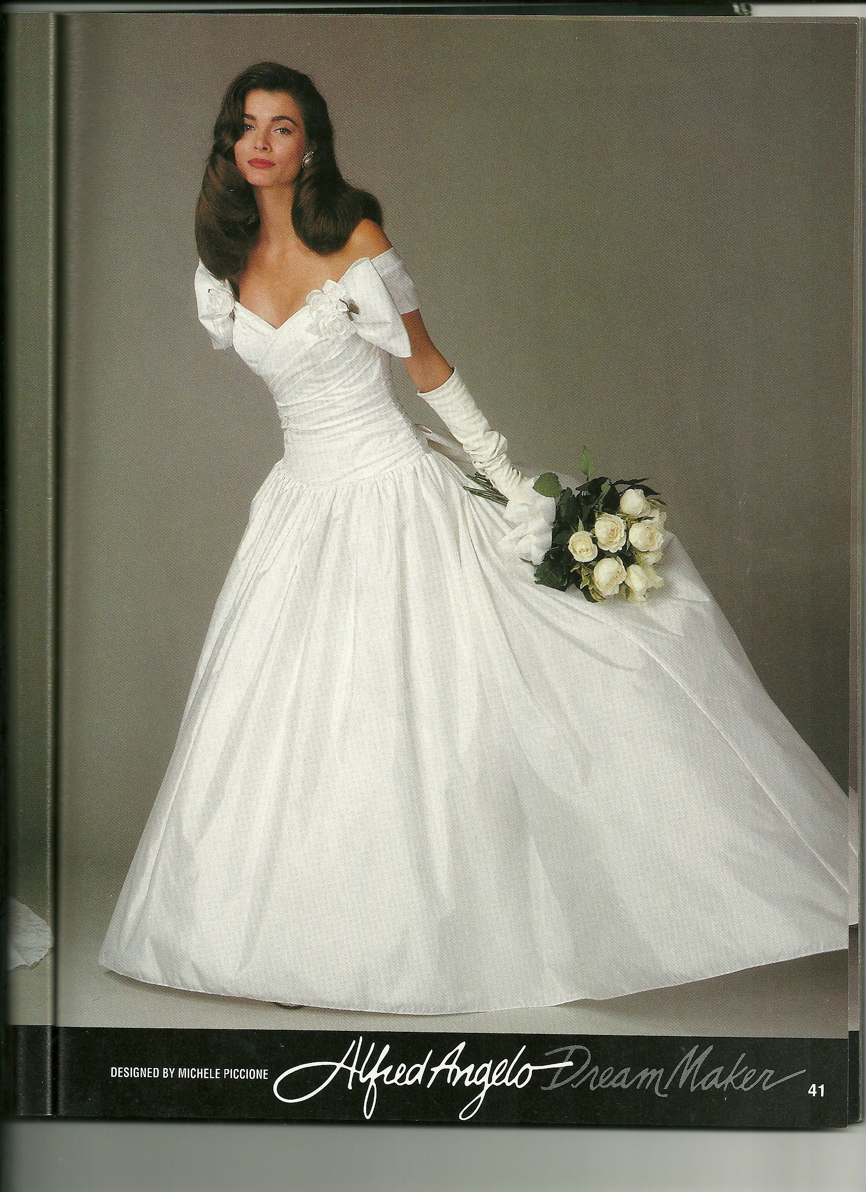 Classic Alfred Angelo Gown 90s Wedding Dress Wedding Dresses Dresses
