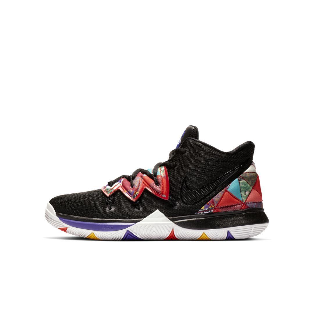 Kyrie 5 Big Kids Shoe Size 6 5y Black Kids Shoes Kids Shoes