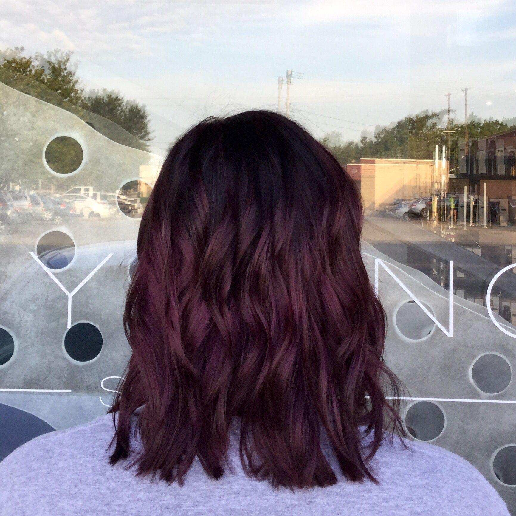Violet Purple Color Melt Purple Hair Fashion Hair Colors - Hair colour pinterest
