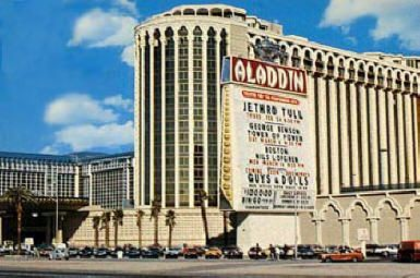 The Aladdin Hotel Las Vegas On May 1967 This Is Where Elvis Priscilla Was Married In Their Suite Photo Taken That Very Day