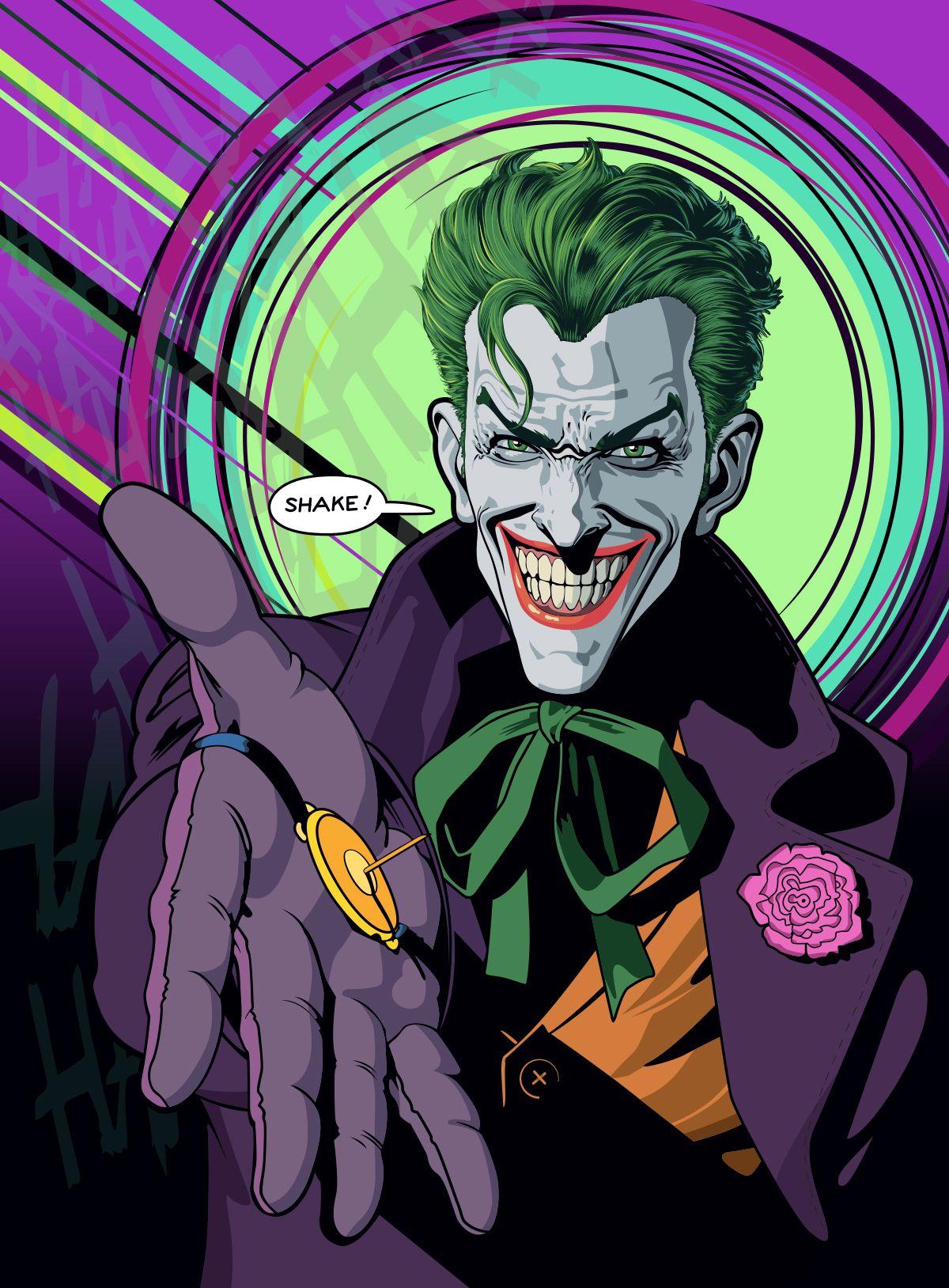 The Joker Poster Joker Comic Joker Art Joker