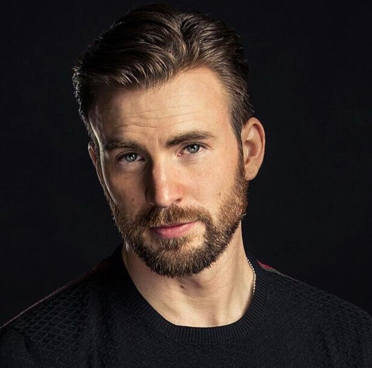 Chris Evans Hair And Beard Men Grooming Hair Style In 2018