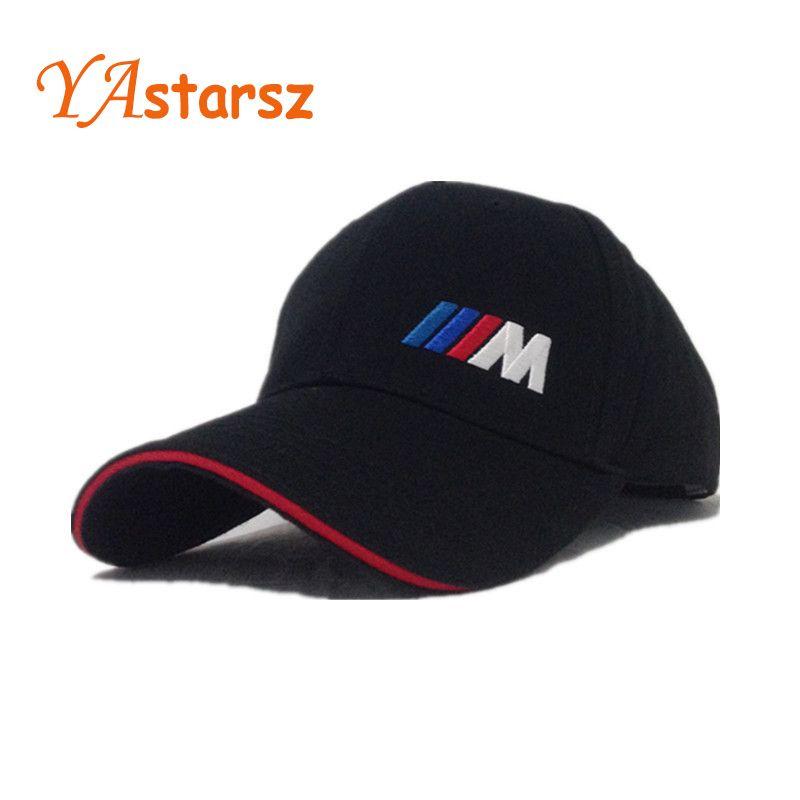 Men Fashion Cotton Car Logo M Performance Baseball Cap Hat For Bmw