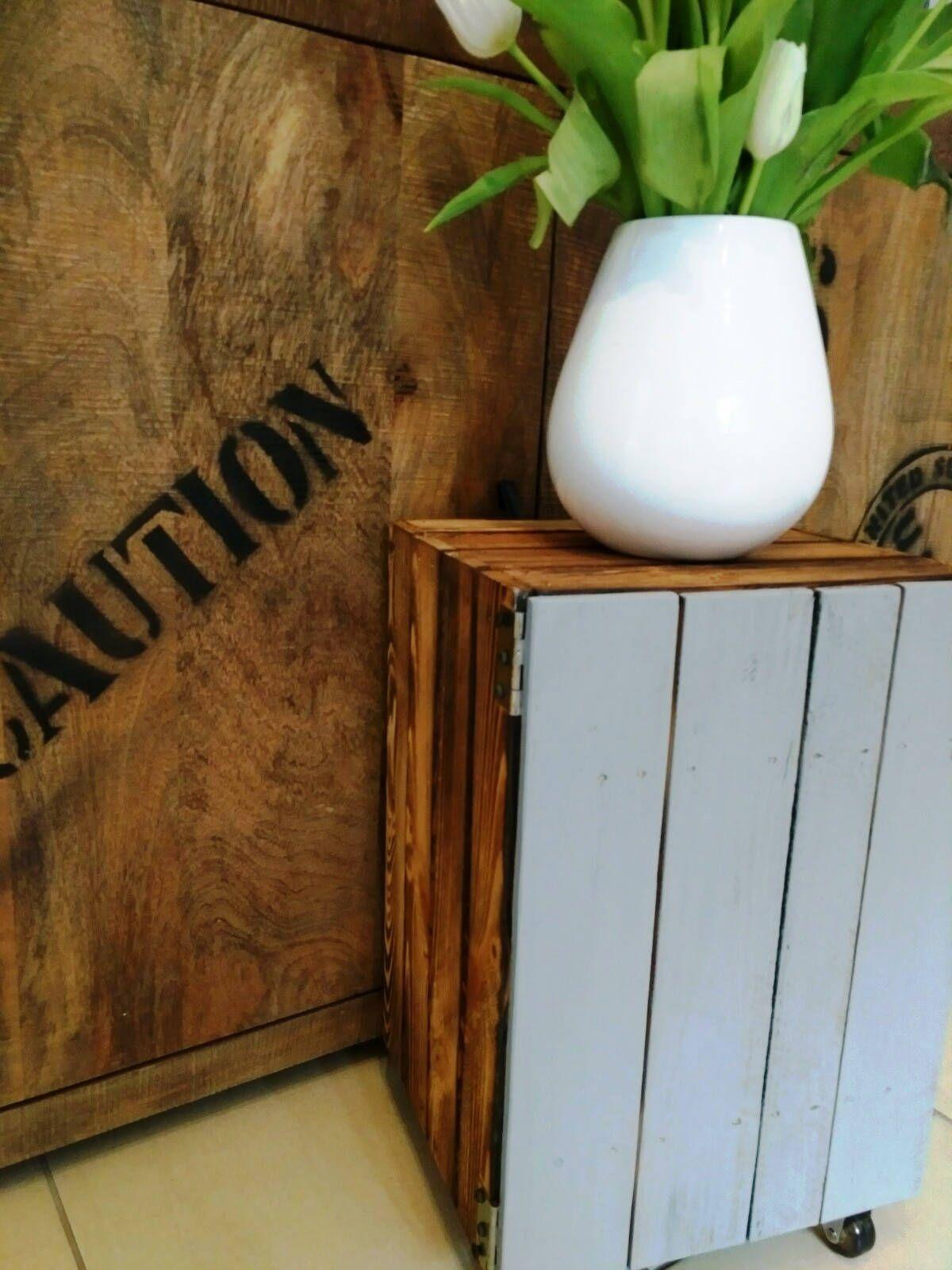 Couchtisch Nachttisch Beistelltisch Flurschrank Telefontisch Nachttisch Holzkiste Mit Tur Nachtschrank Badschrank Kiste Truhe Holzschrank Selbstgemachte Wandkunst Holzkisten Holz Handwerk