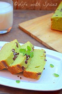 EGGLESS MATCHA BUTTERMILK POUND CAKE   Life with spices