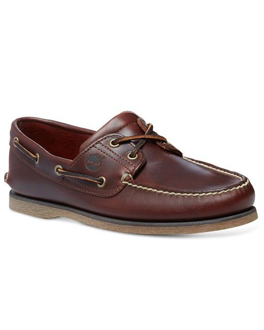 Timberland 2-Eye Boat Shoe (rootbeer) | Extra Tall Mens Clothing | Size  13/14/15 Shoes