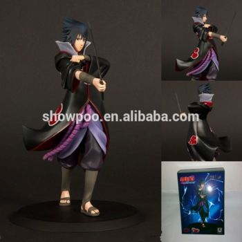Anime Naruto Shippuden Sharingan Uchiha Sasuke PVC Action Figure Figurine Toy