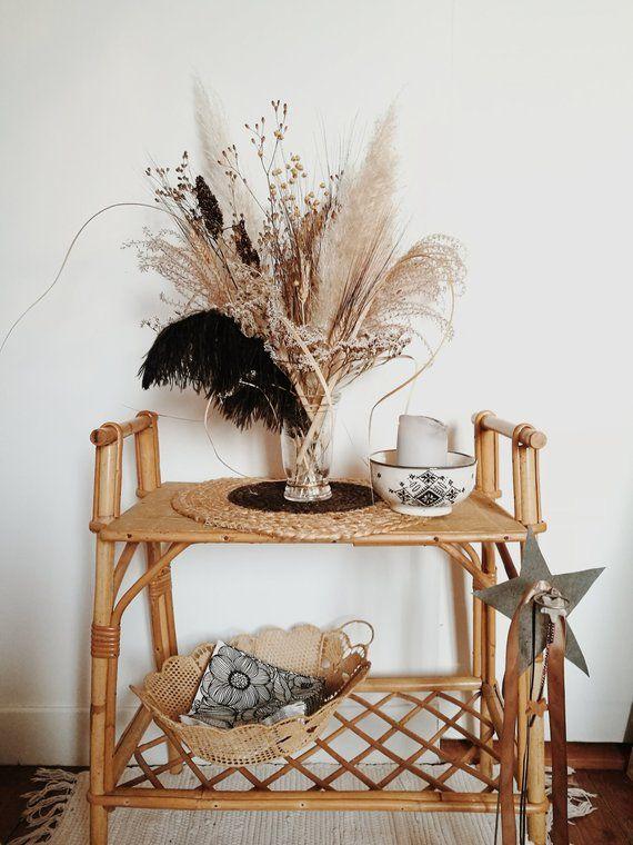 Pampas Grass Vase
