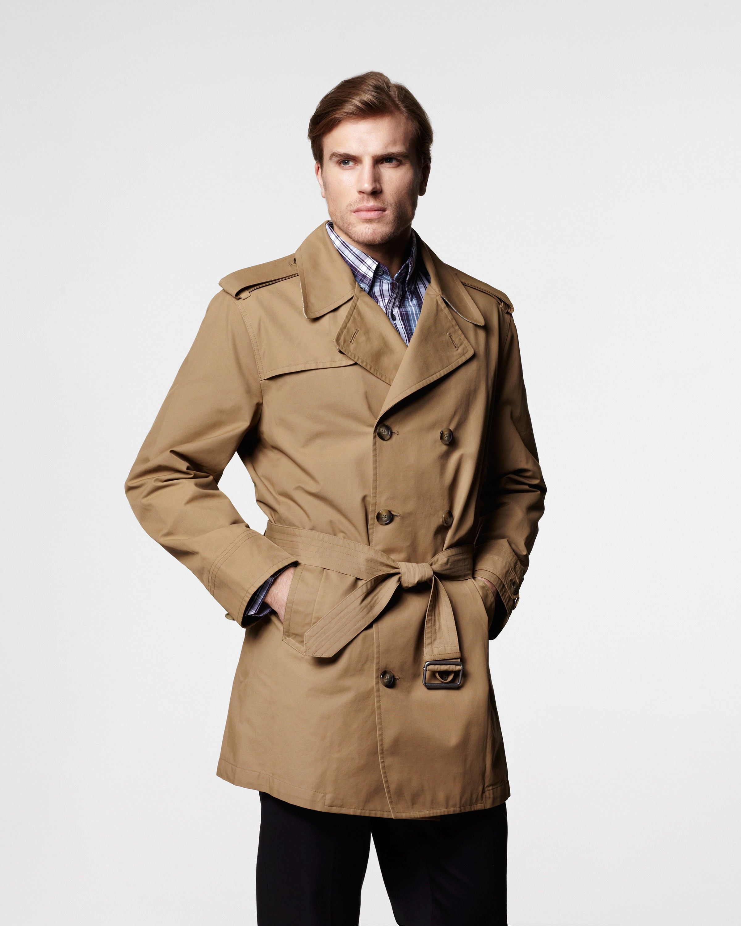 London Fog Essex Short Trench Coat [On Sale for $109] | the ...