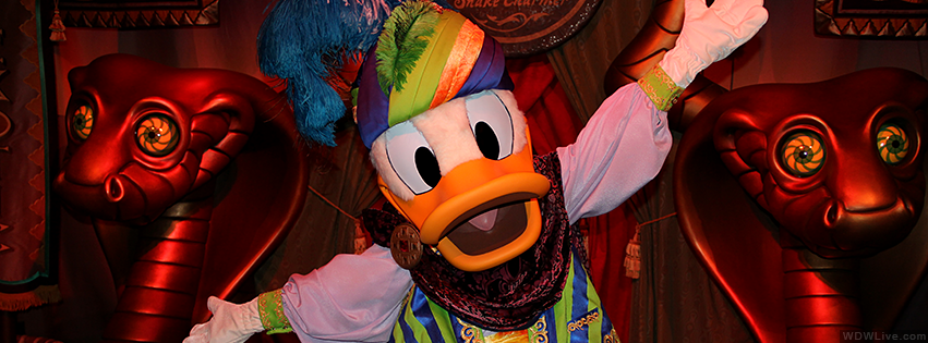 WDWLIVE -The Astounding Donaldo