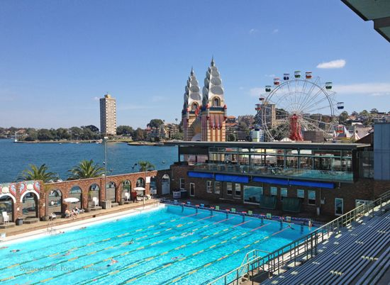North sydney pool luna park sydney 39 s best swimming - Heated public swimming pools sydney ...