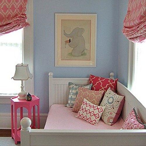 guest post: sweet little girl's room lighting | day bed, little