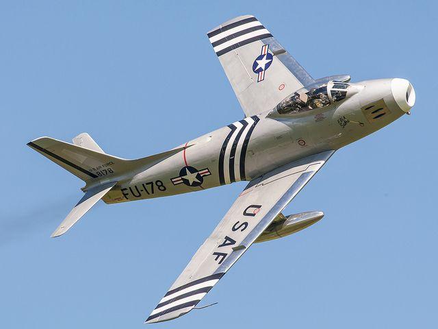 F86 A Sabre #plane #1950s