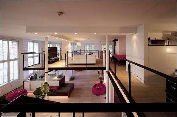einzigartig traum loft in historisch sanierter fabrik traumhaus ideen pinterest. Black Bedroom Furniture Sets. Home Design Ideas