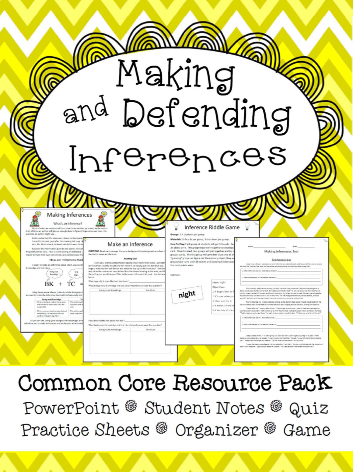 Complete Resource For Teaching Your Students How To Make