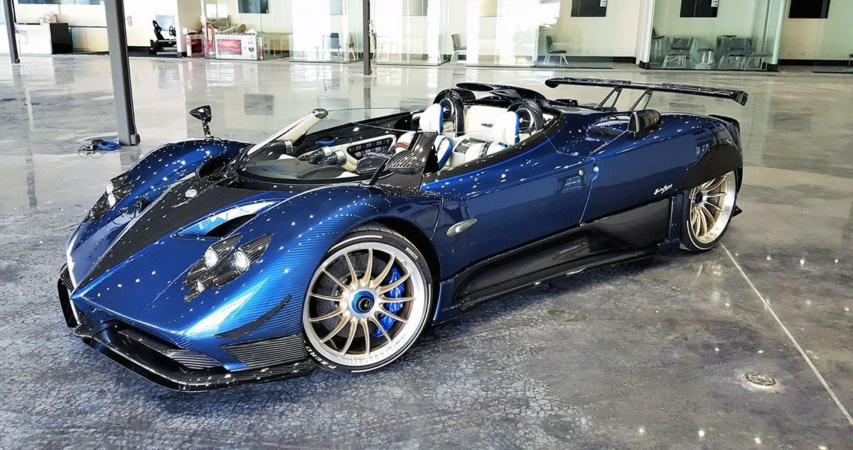 Pagani Zonda Hp Barchetta Pagani Super Cars Pagani Zonda