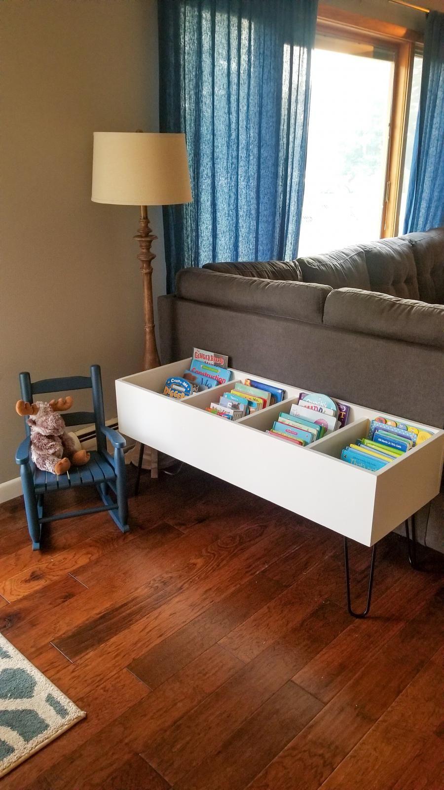 Diy Book Bin Kids Book Storage Bookshelves Kids Ikea Kids #storage #bins #for #living #room