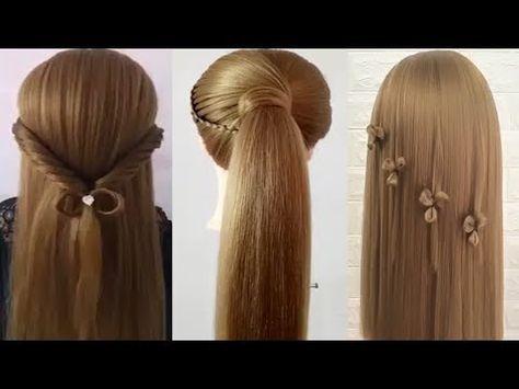 Peinados Faciles Rapidos Y Bonitos Para Ninas 2017 Trenzas Faciles Para Cabello Youtube Hair Styles Easy Hairstyles Peinados Faciles