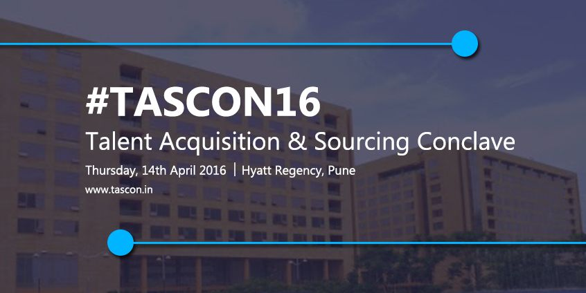 Enlighten yourself with new & exquisite Ideas, Strategies & Technologies implemented at ‪#‎TASCON16‬. Register here: http://tascon.in ‪#‎Sourcing‬ ‪#‎TalentAcquisition‬