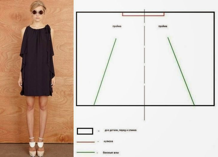 Mod@ en Line@. | sewing, clothes and fabric | Pinterest | Vestido ...