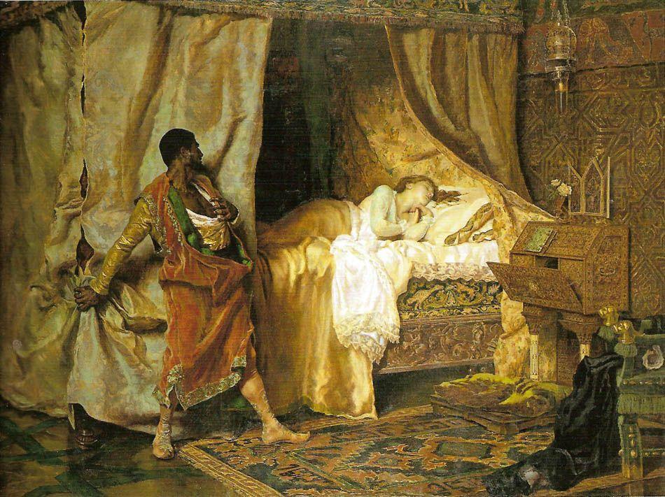 Otelo y Desdemona (Antonio Muñoz Degrain)