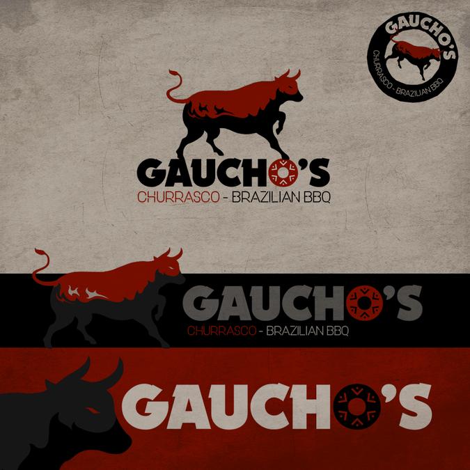 Design a Brazilian BBQ Logo - Gaucho