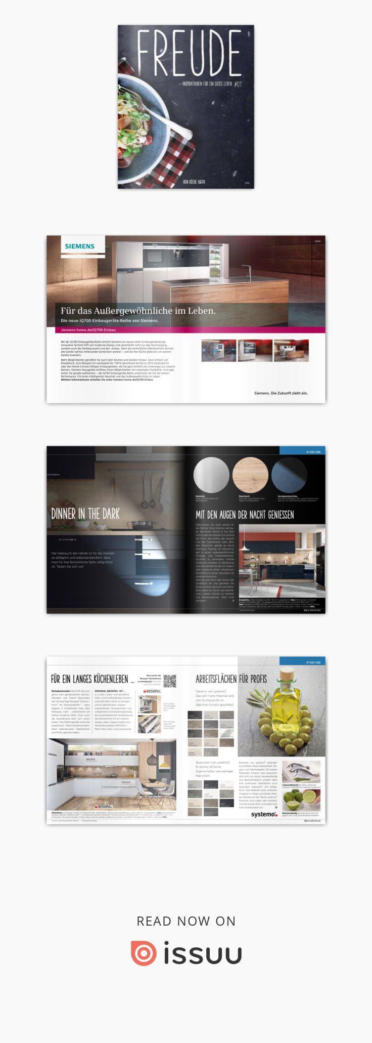 Die Küche Magazin. Küche Holz Weiß Lasiert Griff Landhaus Einzeilig ...
