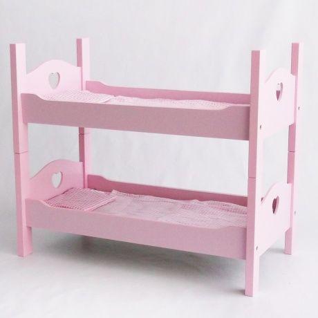 Litera rosa atrezzo para fotos bebés. Litera ideal con corazones en ...