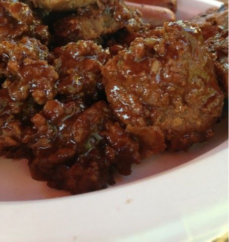 Sweet BBQ Turkey Meatballs  From One Lifestyle To Another: Make it Yourself