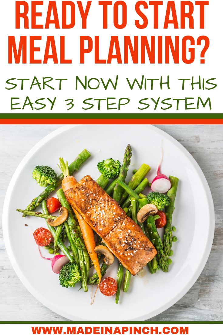 Become A Meal Planner Failproof Meal Planning For Beginners Meals Meal Planning Healthy Family Meals