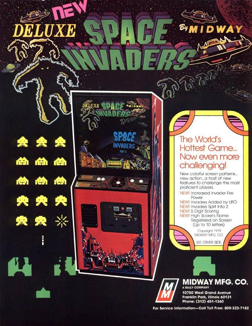 Space Invaders Arcade Game Screen
