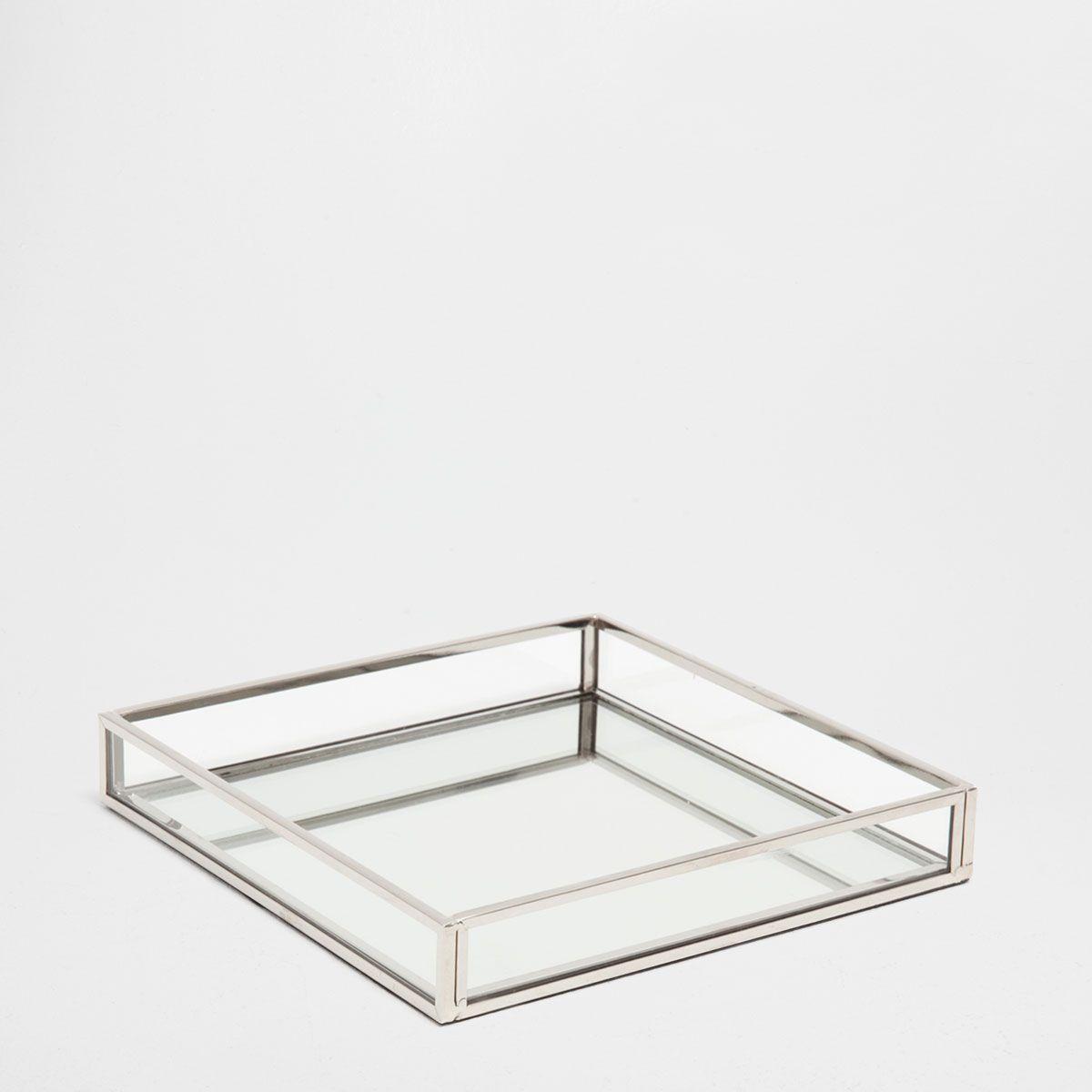 tray glass brass decor small decorative and trays