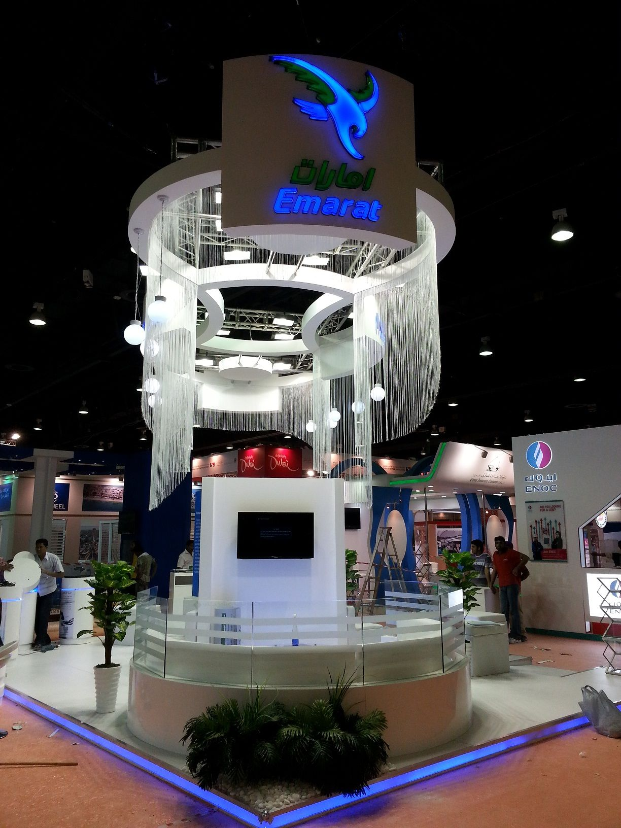 Exhibition Stand In Dubai : Emarat exhibition stand dubai exhibit tradeshow