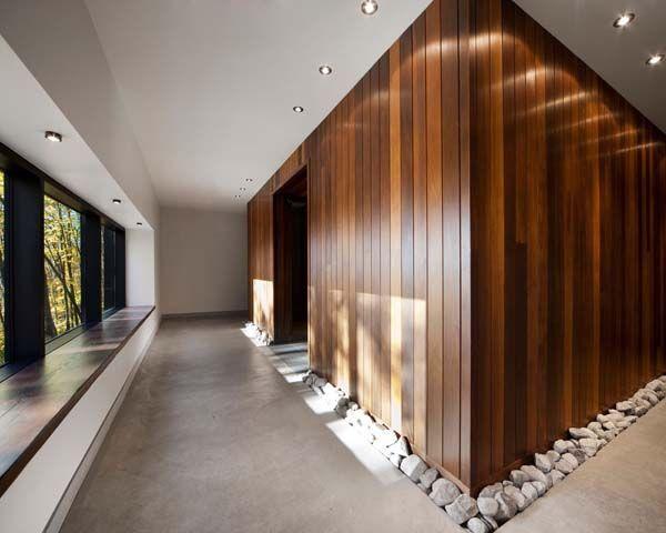 window seat pebbles Wellness Design Pinterest Timber