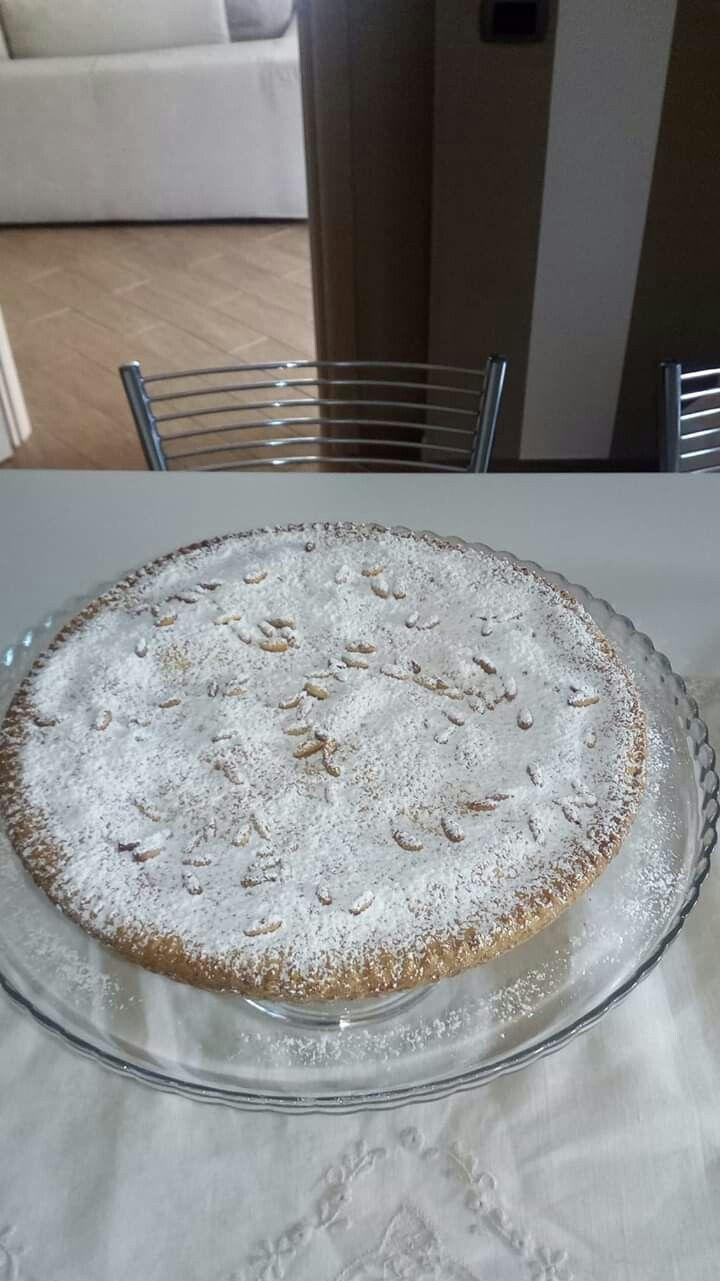 Photo of torta della nonna per il mio amore pronta!!!💪💪💪