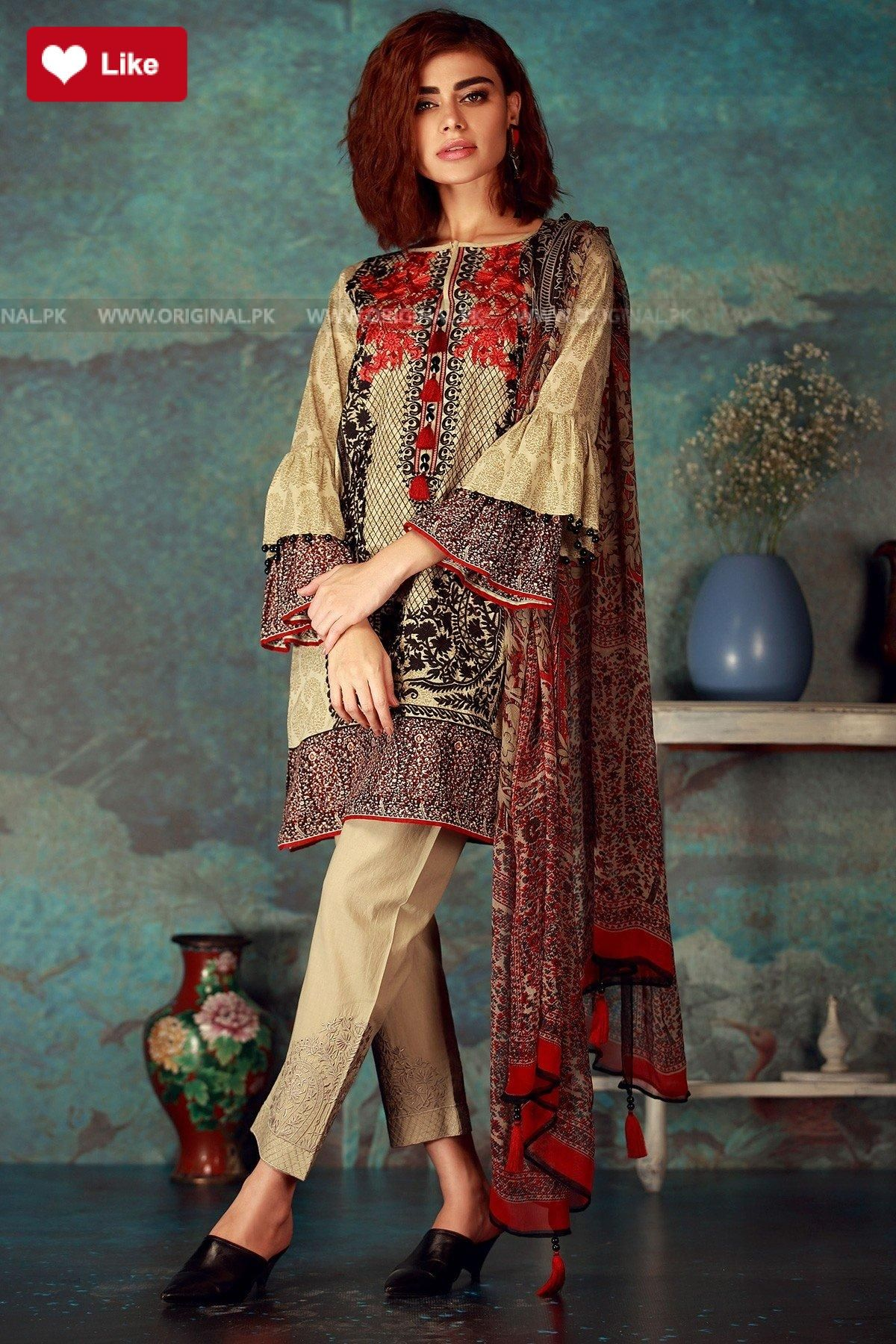 Maliha Tabassum Pakistani Dress Design Fashion Stylish Dresses