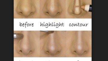 Cómo corregir la nariz con maquillaje para dejarla perfecta – Soy Moda