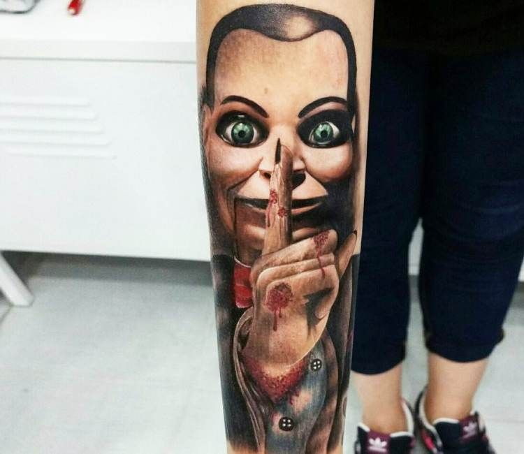 Billy DeadSilence tattoo by Andrea Morales
