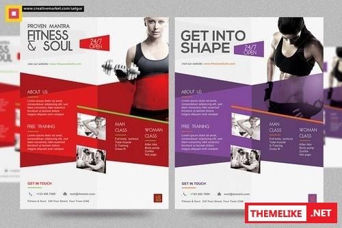 22 Beautiful Sport Flyers PSD Templates library Pinterest - gym brochure templates