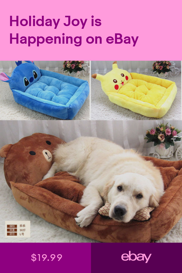 Beds Pet Supplies Ebay With Images Puppy Sofa Pet Bed Pets
