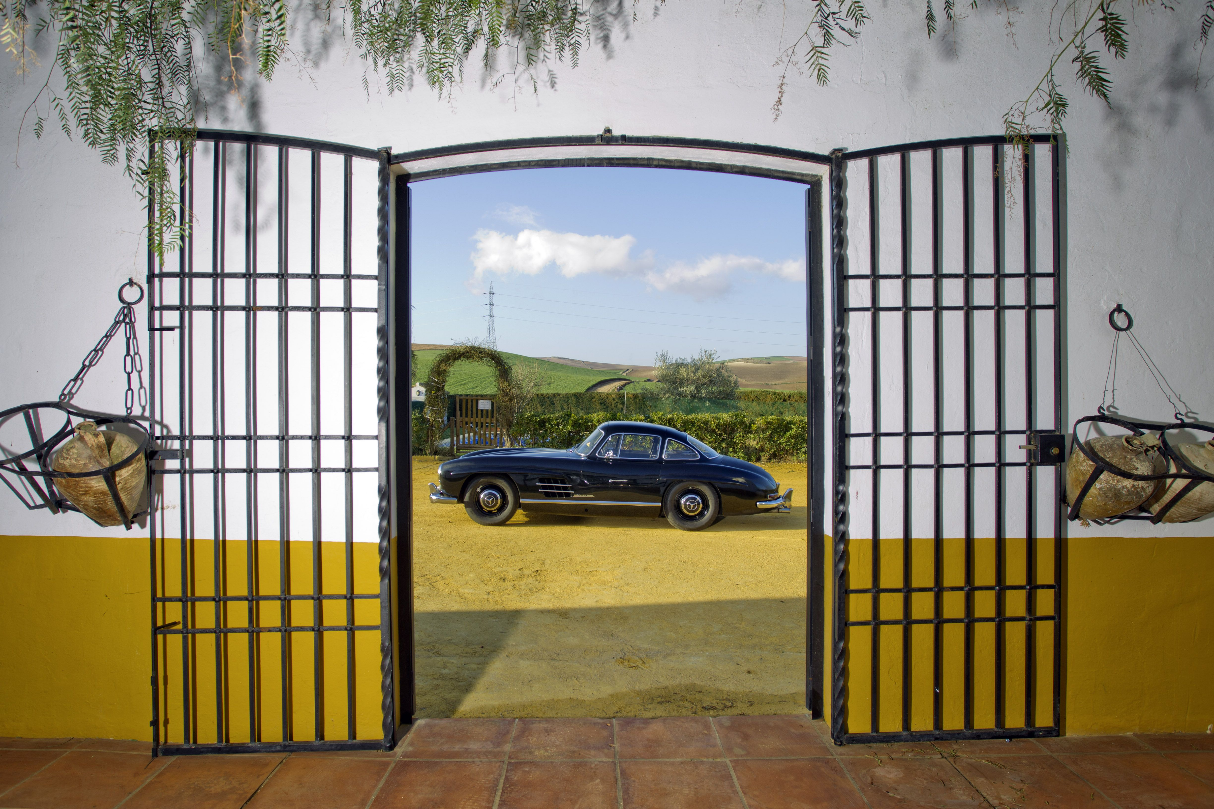 60 years of the Mercedes Benz SL Driving event Marbella Spain