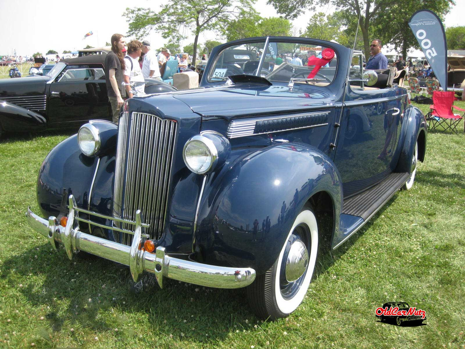 Love this beautiful 1939 #Packard 1700 convertible coupe