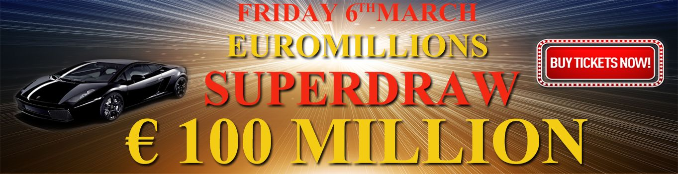 #EuroMillions #superdraw Takes Place on Friday 6th march 2015 http://thetoplotto.com/euromillions-superdraw-takes-place-on-friday-6th-march-2015/