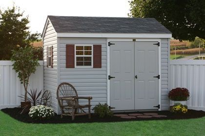 outdoor vinyl storage sheds and barns direct from the amish in - Garden Sheds Vinyl