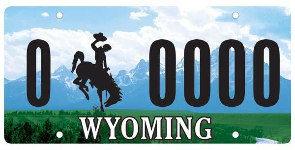 The Best State License Plate Is