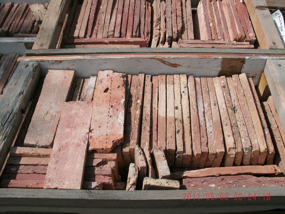Thin Used Chicago Antique Face Brick Veneer Bricks