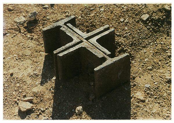 Excavation of foundation barcelona pavilion architecture details pinte - Fondation mies van der rohe ...