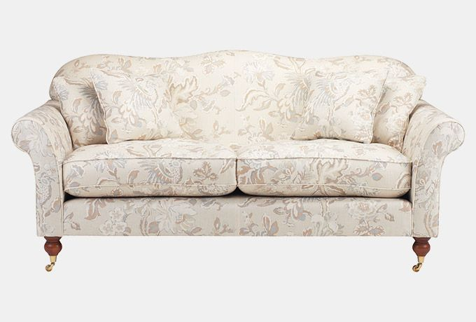 Hinton sofa in Wesley-Barrell Sankofa, natural | Sofa ...
