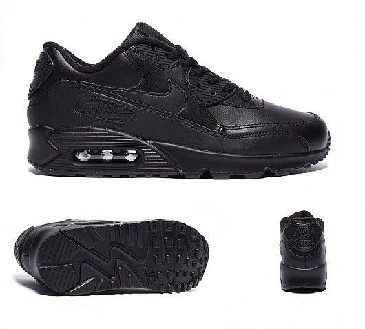 Air Max 90 Black Leather