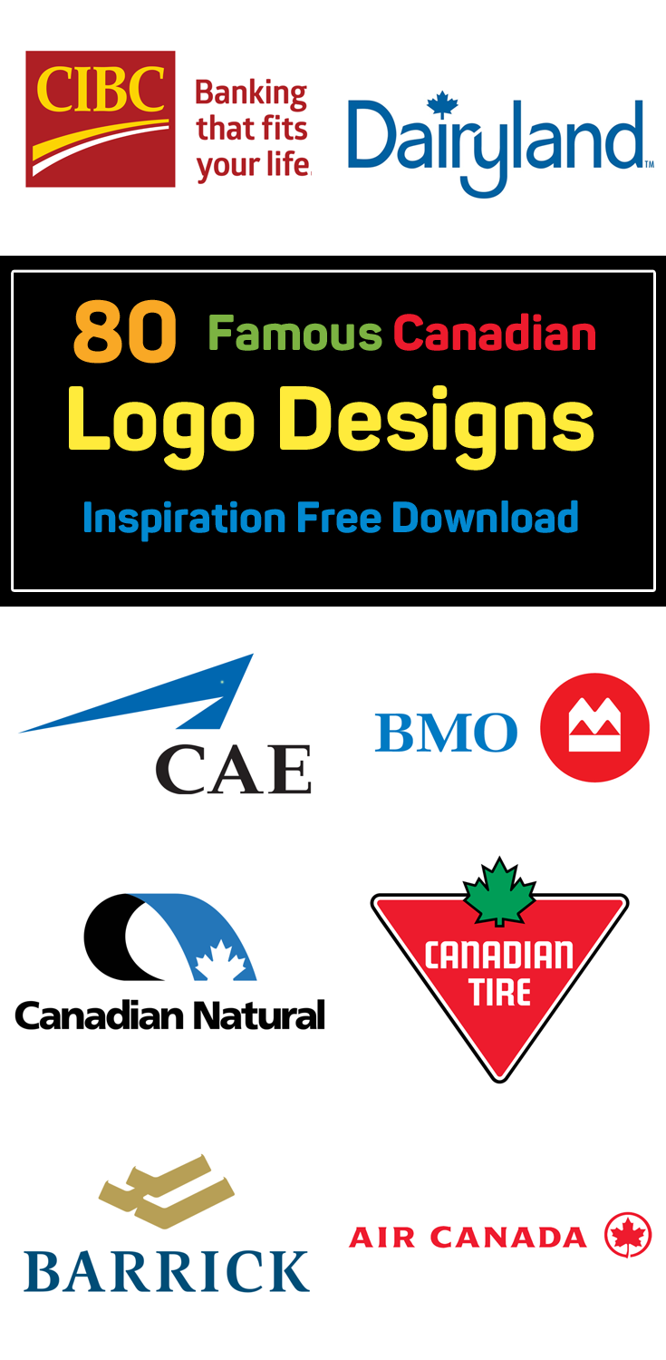 80+ Top Famous Canadian Brand Logos for Inspiration